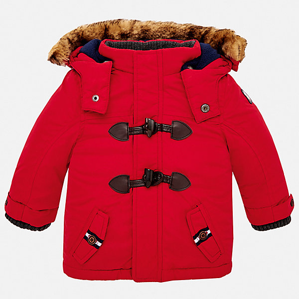 Купить Утепленная куртка Mayoral, Испания, красный, 80, 86, 92, 98, Мужской