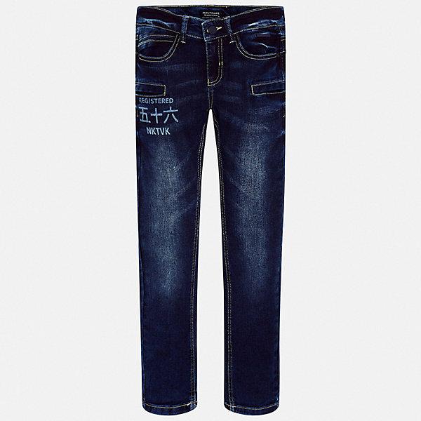 Mayoral Джинсы Mayoral для мальчика стильные джинсы для девушек