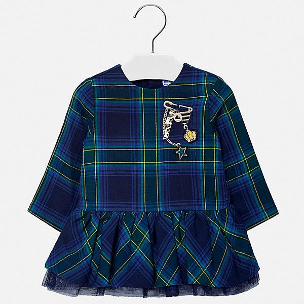 Купить Платье Mayoral для девочки, Индия, синий, 92, 86, 80, 98, 74, Женский