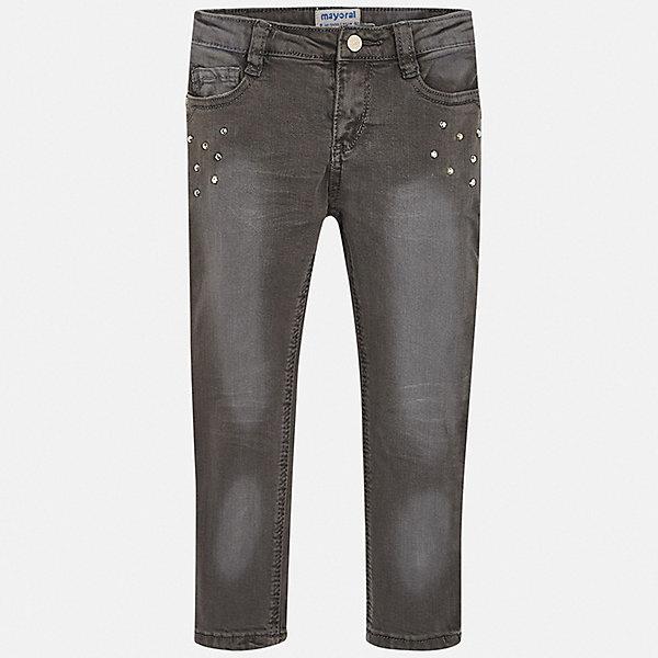 Mayoral Джинсы Mayoral для девочки брюки джинсы и штанишки s'cool брюки для девочки hip hop 174059