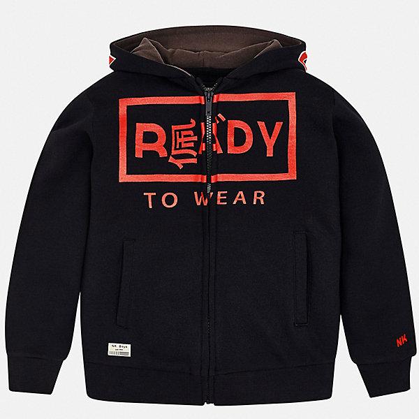 Купить Куртка Mayoral для мальчика, Испания, черный, 128, 134/140, 146/152, 153/160, 167/172, 161/166, Мужской