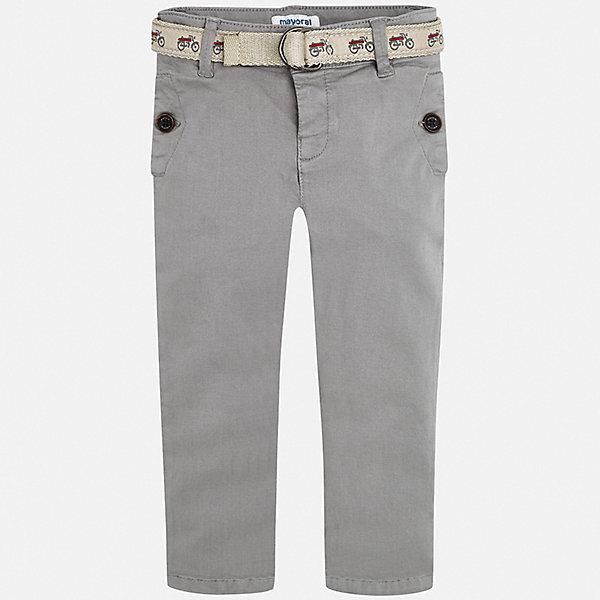 Mayoral Брюки Mayoral для мальчика брюки прямые из льна