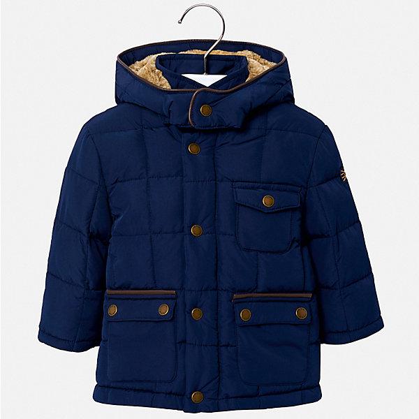 Купить Демисезонная куртка Mayoral, Китай, синий, 80, 92, 86, 98, Мужской