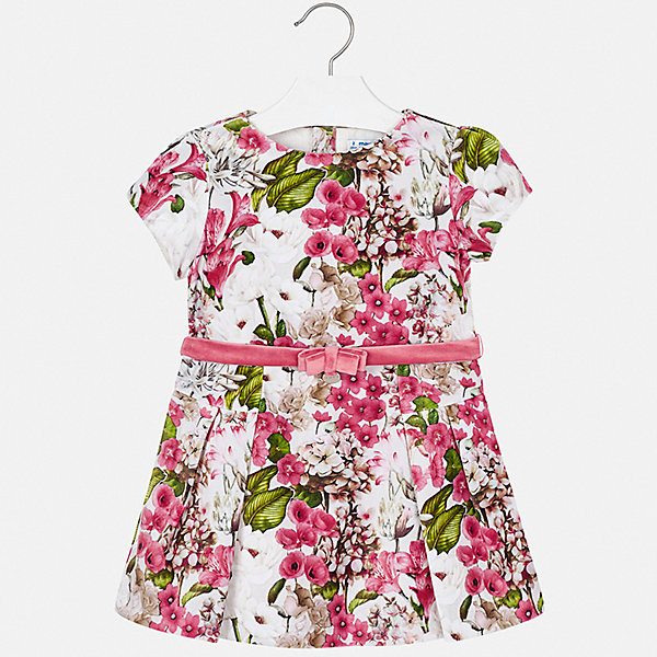 Купить Платье Mayoral для девочки, Испания, розовый, 116, 98, 128, 92, 104, 134, 122, 110, Женский