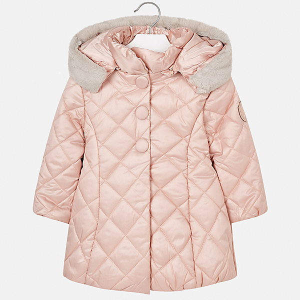 Купить Куртка Mayoral для девочки, Испания, бежевый, 104, 122, 134, 98, 116, 128, 110, 92, Женский