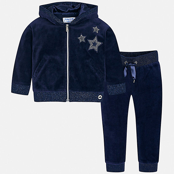 Купить Спортивный костюм Mayoral для девочки, Китай, синий, 98, 128, 92, 116, 134, 122, 110, 104, Женский