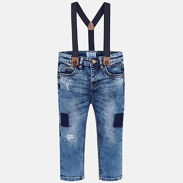 Mayoral Джинсы Mayoral для мальчика брюки джинсы и штанишки ёмаё ползунки для мальчика ватсон 26 290