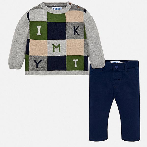 Mayoral Комплект: свитер и брюки Mayoral для мальчика брюки и капр