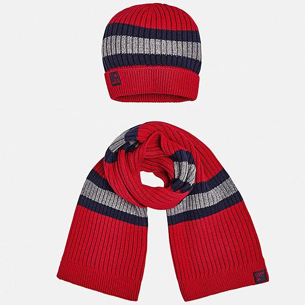 Mayoral Комплект: шапка и шарф Mayoral для мальчика комплект шапка и шарф розовый billieblush ут 00018142