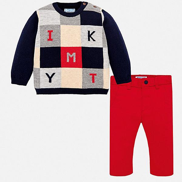 Mayoral Комплект: Свитер и брюки Mayoral для мальчика стоимость