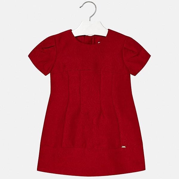 Купить Нарядное платье Mayoral, Китай, красный, 104, 122, 116, 128, 92, 98, 134, 110, Женский
