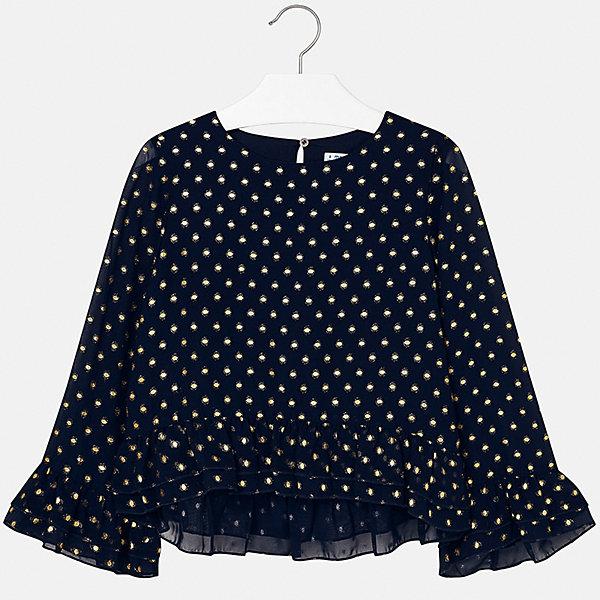 Mayoral Блузка Mayoral для девочки блузка t tahari блузка