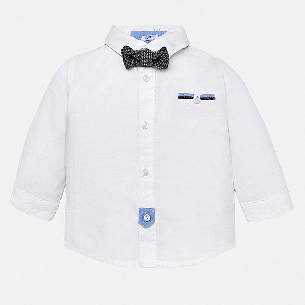 Mayoral Рубашка Mayoral для мальчика блузки и рубашки frizzzy рубашка детская калейдоскоп пуговиц