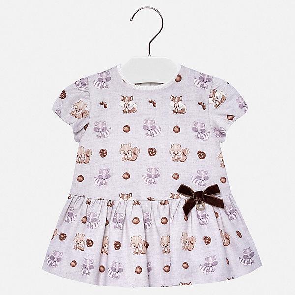Купить Платье Mayoral для девочки, Марокко, серый, 80, 98, 92, 86, Женский