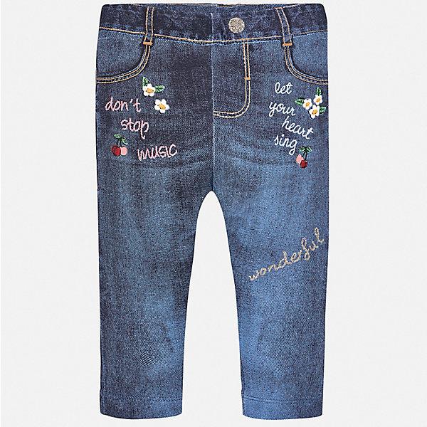 Mayoral Джинсы Mayoral для девочки брюки джинсы и штанишки coccodrillo леггинсы для девочки mouse j17122602mou 009