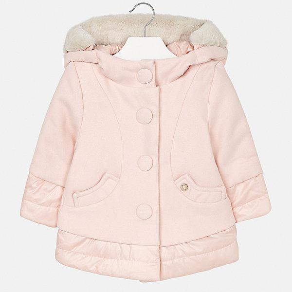 Купить Куртка Mayoral для девочки, Испания, бежевый, 122, 110, 92, 128, 134, 98, 116, 104, Женский