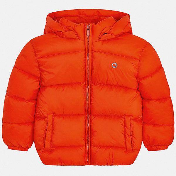 Демисезонная куртка Mayoral, Мьянма, оранжевый, 92, 110, 98, 122, 116, 128, 134, 104, Мужской  - купить со скидкой