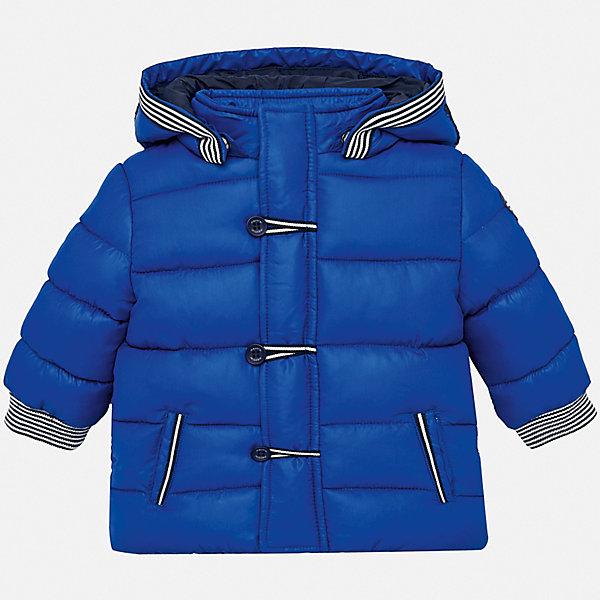 Купить Утепленная куртка Mayoral, Китай, синий, 80, 86, 92, 98, Мужской
