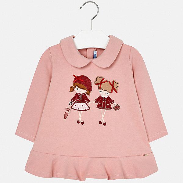 Купить Платье Mayoral для девочки, Испания, сиреневый, 74, 92, 98, 80, 86, Женский