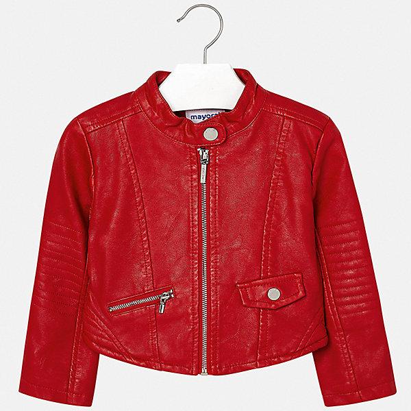 Куртка Mayoral, Испания, красный, 116, 98, 134, 110, 122, 104, 128, Женский  - купить со скидкой