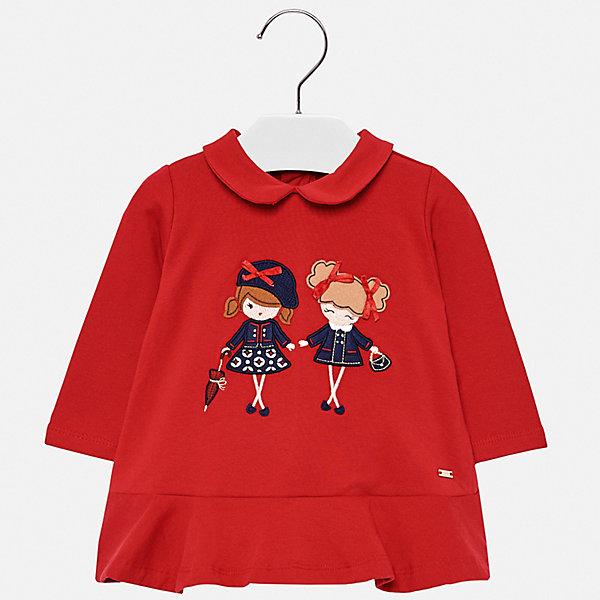Купить Платье Mayoral для девочки, Индия, красный, 98, 92, 74, 80, 86, Женский