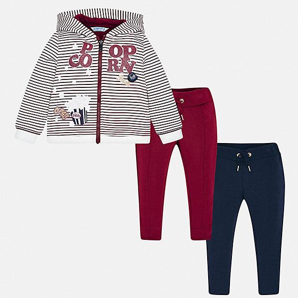 Купить Спортивный костюм Mayoral для девочки, Испания, синий, 134, 128, 122, 104, 116, 110, 92, 98, Женский