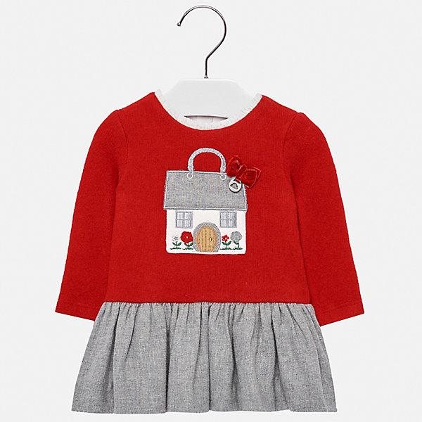 Купить Платье Mayoral для девочки, Марокко, красный, 80, 98, 92, 86, 74, Женский