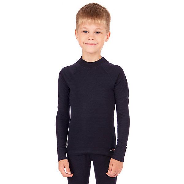 Термобелье Lynxy: джемперТермобелье<br>Характеристики товара:<br><br>• состав ткани: 95% полиэстер, 5% вискоза;<br>• подкладка: нет;<br>• сезон: демисезон, зима;<br>• застежка: нет;<br>• длинные рукава;<br>• страна бренда: Россия.<br><br>Мягкий джемпер для ребенка легко надевается благодаря эластичности ткани. Модель хорошо подходит для ношения под верхней одеждой, при этом выглядит стильно. <br><br>Термобелье от известного бренда Lynxy поможет создать ребенку комфортные условия.