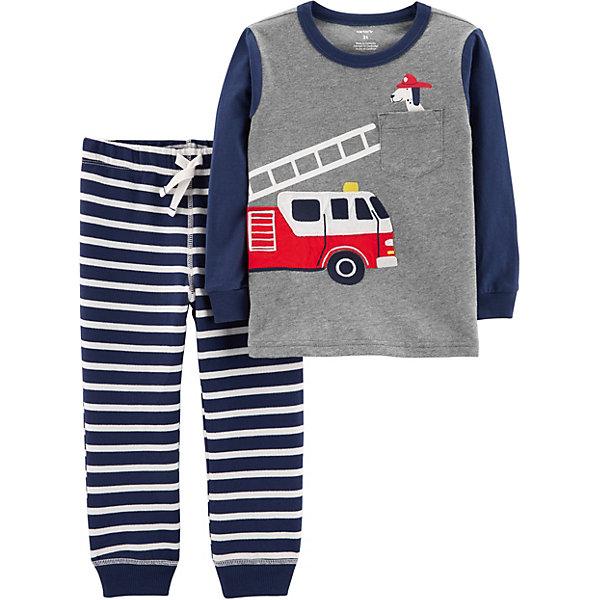 Комплект: Футболка с длинным рукавом и брюки Carter's для мальчика Carter`s
