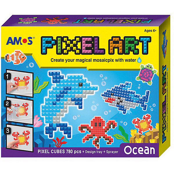 Amos Аква-мозаика из пикселей Океан