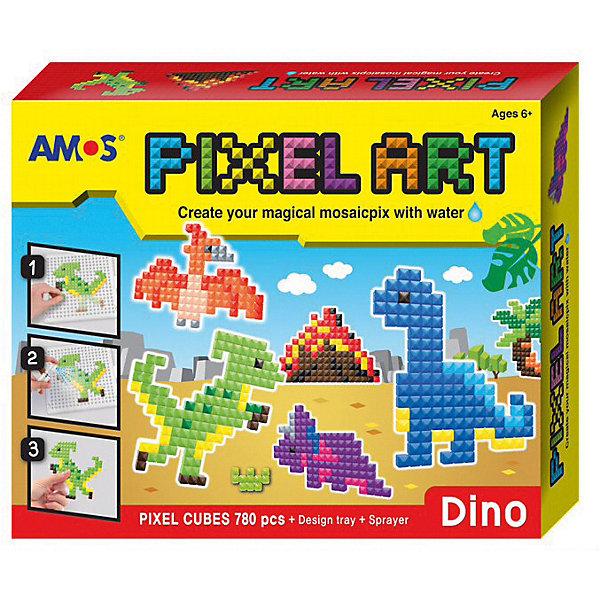 Amos Аква-мозаика из пикселей Amos Динозавры