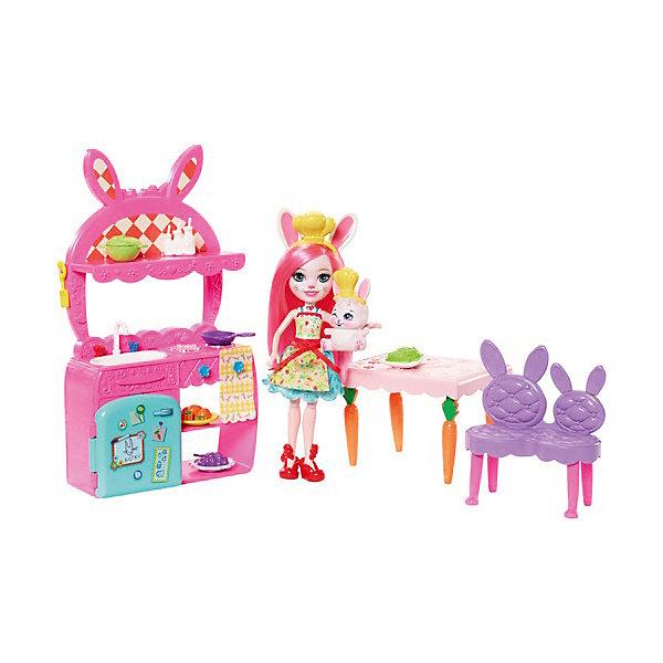 Mattel Набор с куклой Enchantimals Сюжетные наборы Бри Банни и Твист enchantimals игровой набор с куклой sage scunk