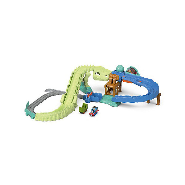 Mattel Игровой набор Томас и его друзья  Взрыв на динозавре! набор игровой для мальчика poli средний трек с умной машинкой