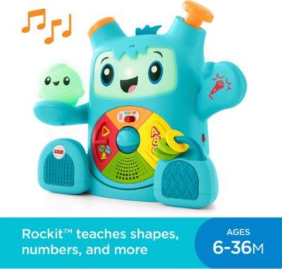 Фото - Fisher-Price Интерактивная игрушка Fisher Price Роккит и Спарки развивающие коврики fisher price жираф