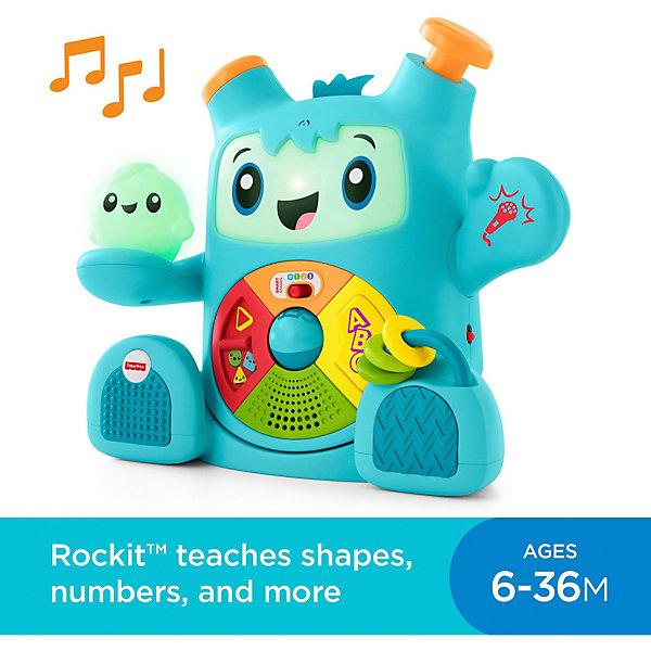 Mattel Интерактивная игрушка Fisher Price Роккит и Спарки mattel мини игрушка бибель fisher price