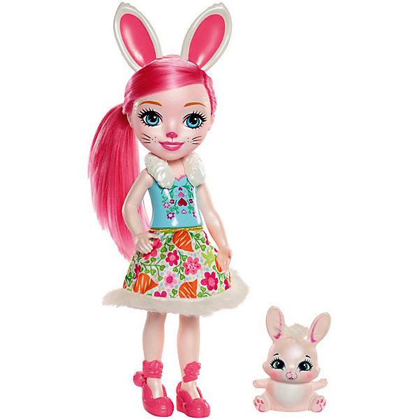 Большая кукла Enchantimals Бри Банни и Твист, 31 см Mattel