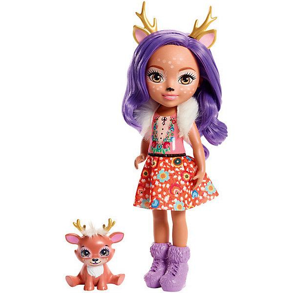 Большая кукла Enchantimals Данесса Оленни и Спринт, 31 см Mattel