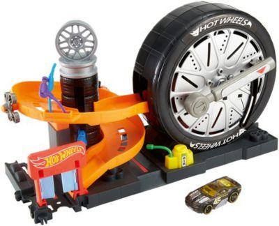 Игровой набор Hot Wheels  Сити  Магазин шин, артикул:8859000 - Игрушки для мальчиков