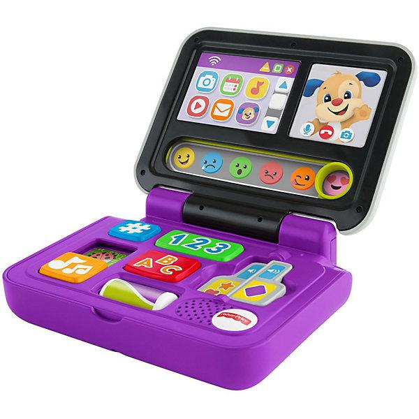 Mattel Развивающая игрушка Fisher Price Смейся и учись Ноутбук Ученого Щенка