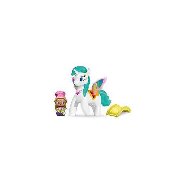 Mattel Набор фигурок Fisher Price Shimmer & Shine Радужный джин и Зумикорн набор фигурок help ассорти от моли 15шт кедр