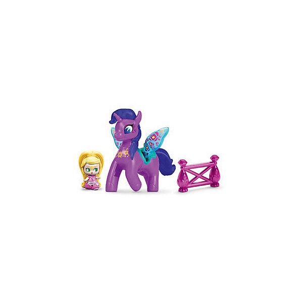Mattel Набор фигурок Fisher Price Shimmer & Shine Лия и Зумикорн цена
