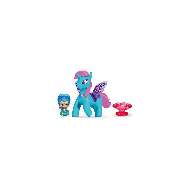 Mattel Набор фигурок Fisher Price Shimmer & Shine Шайн и Зумикорн игровой набор shimmer wing фея тюльпан swf0005b