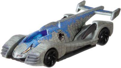 Премиальная машинка Hot Wheels  Jurassic World  Велоцираптор, синий, артикул:8860344 - Игрушки для мальчиков