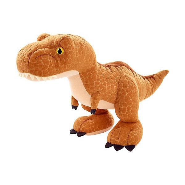 Mattel Мягкая игрушка Jurassic World Плюшевые динозавры Тиранозавр Рекс
