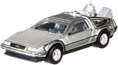Тематическая премиальная машинка Hot Wheels  Назад в будущее  Машина времени 2, артикул:8860373 - Игрушки для мальчиков
