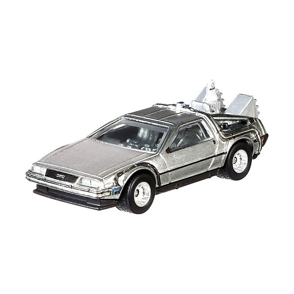 Тематическая премиальная машинка Hot Wheels Назад в будущее Машина времени 2 Mattel 8860373