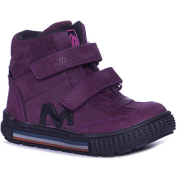 Minimen Ботинки Minimen для девочки цена