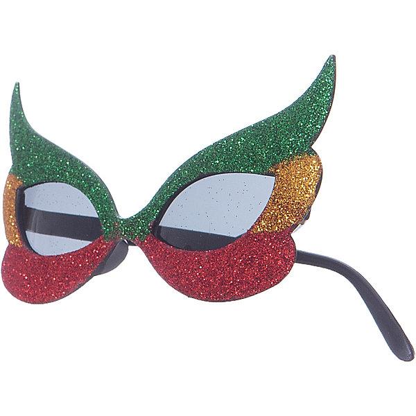 Феникс-Презент Карнавальные очки Феникс-Презент, фиолетовые
