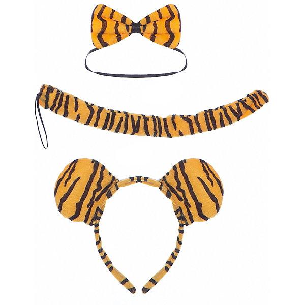 "Маскарадный набор Феникс-Презент ""Тигр"", 3 предмета"