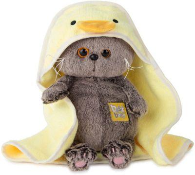 Мягкая игрушка Budi Basa Кот Басик Baby в полотенце с капюшоном, артикул:8860861 - Мягкие игрушки